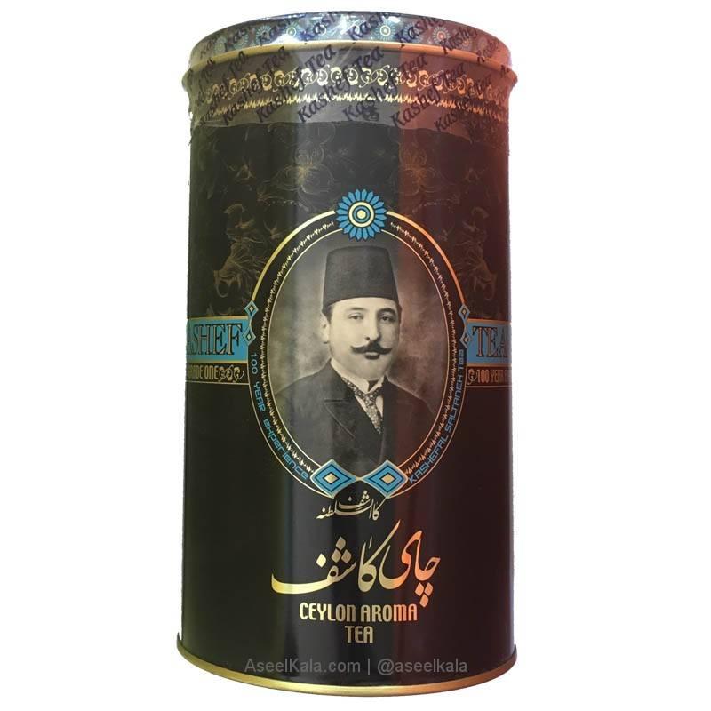 چای شکسته معطر کاشف KASHEF طعم ارل گری وزن 454 گرم