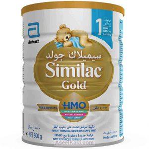 شیر خشک سیمیلاک گلد SIMILAC GOLD شماره 1 - 800 گرمی