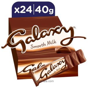 شکلات گلکسی GALAXY شیری خالص