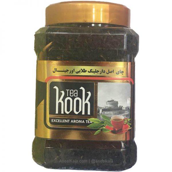 چای اصل دار جلینگ طلایی کوک