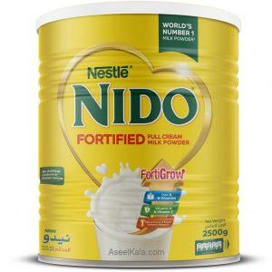 شیر خشک نیدو NIDO ساده 2500 گرم قوطی