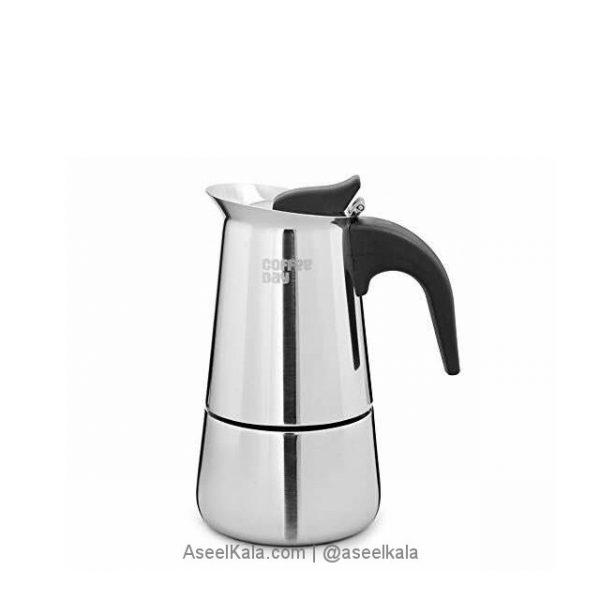 قهوه جوش استیل اسپرسو ساز 200گرم