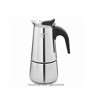 قهوه جوش اسپرسو ساز استیل 600 گرم
