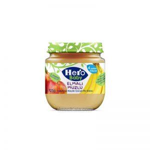 پوره میوه مخلوط سیب و موز هرو بیبی HERO BABY