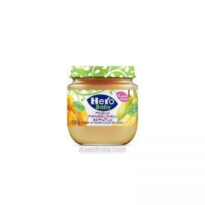 پوره میوه مخلوط گلابی، موز و نارنگی هرو بیبی HERO BABY