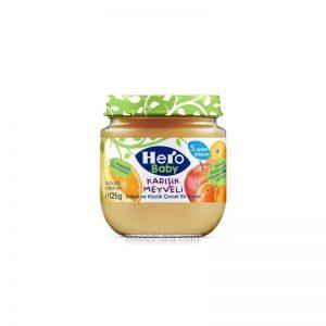 پوره میوه مخلوط میوه جات هرو بیبی HERO BABY