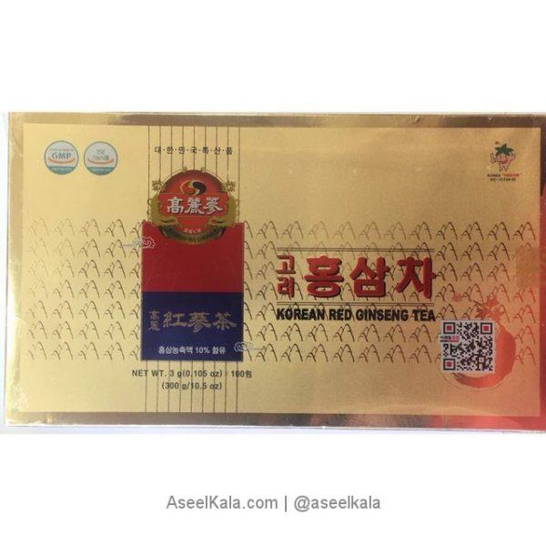 چای جینسینگ قرمز کره ای 100 عددی
