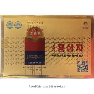چای جینسینگ قرمز کره ای 50 عددی