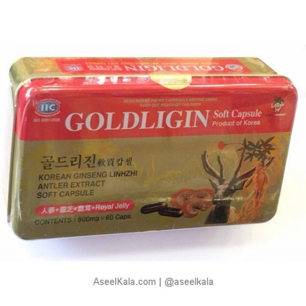 عصاره جینسینگ گلدلیجین + عصاره شاخ گوزن