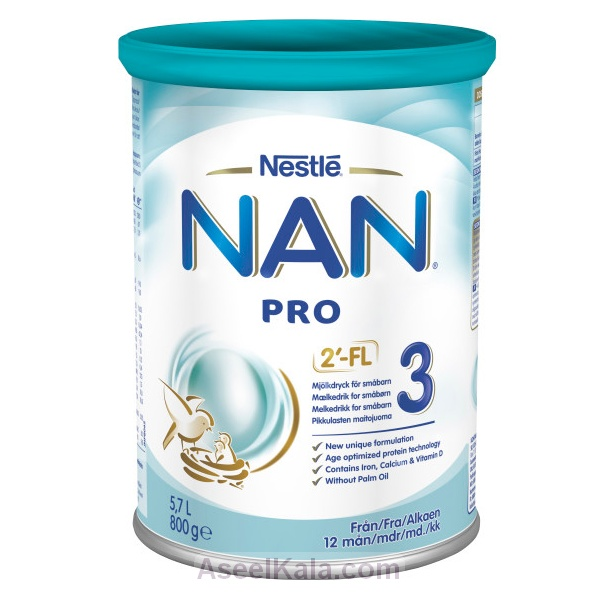 شیر خشک نان پرو NAN PRO شماره 3 - 800 گرمی