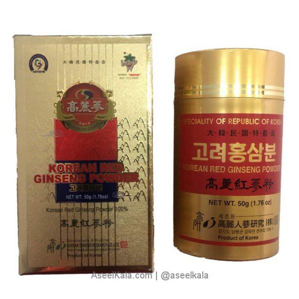 پودر جینسینگ قرمز کره ای 100درصد خالص