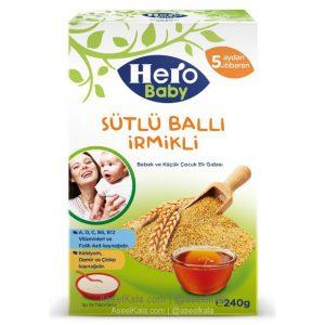 سرلاک عسل و سمولینا هروبیبی Hero Baby