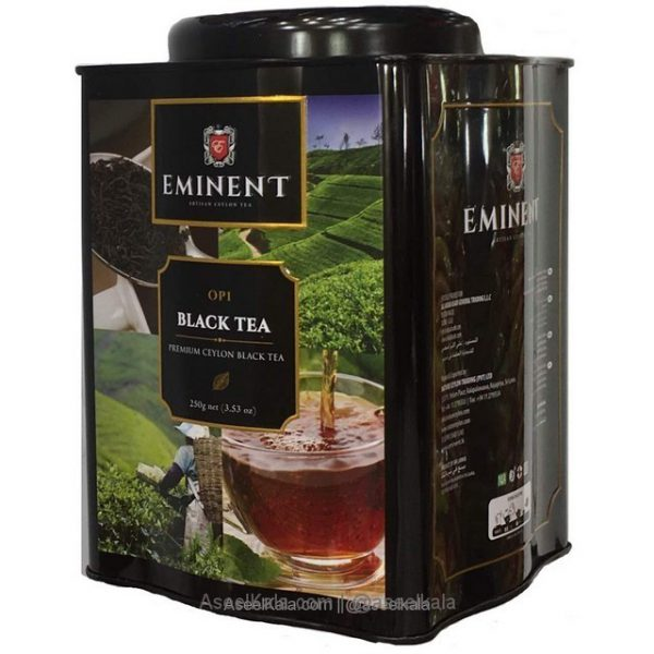 چای امیننت EMINENT قوطی 250 گرم با طعم ساده