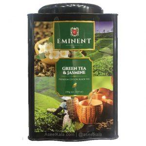 چای سبز امیننت EMINENT قوطی با طعم گل یاس 250 گرم
