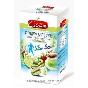 قهوه سبز لاغری سلمار Celmar با طعم لیمو