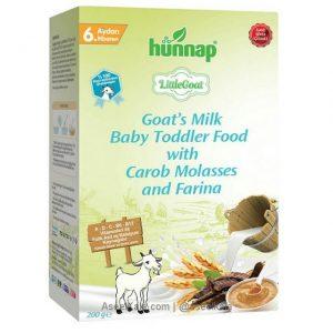 سرلاک با شیر بز هوناپ HUNNAP با طعم گندم