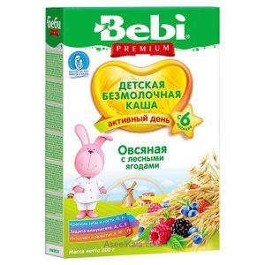 سرلاک بدون شیر ببی BEBI با طعم میوه های قرمز