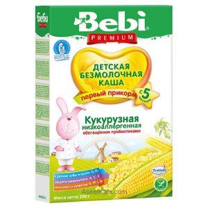 سرلاک بدون شیر ببی BEBI با طعم ذرت