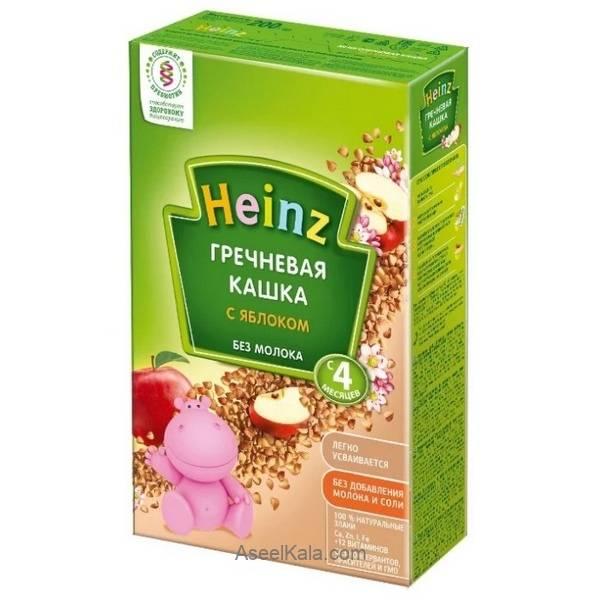 سرلاک بدون شیر هاینز HEINZ با طعم گندم سیاه و سیب