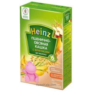 سرلاک بدون شیر هاینز HEINZ با طعم موز ، گلابی ، سیب و غلات