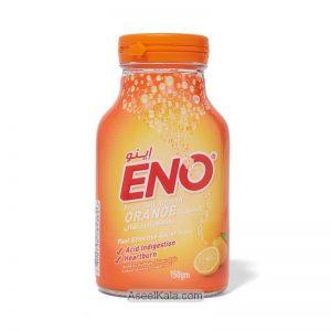 پودر نمک میوه ضد اسید اینو یا انو ENO با طعم پرتقال