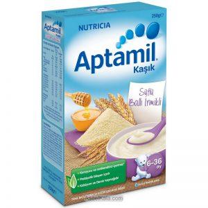 سرلاک آپتامیل APTAMIL با طعم عسل و سمولینا همراه با شیر