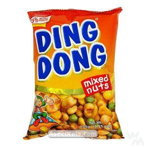 آجیل مخلوط مغزها دینگ دونگ DING DONG با طعم ساده