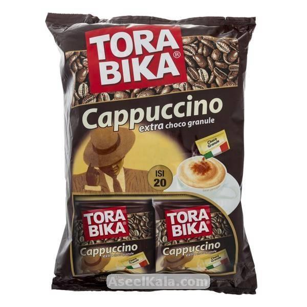 کاپوچینو فوری تورابیکا TORABIKA تعداد 20 عددی