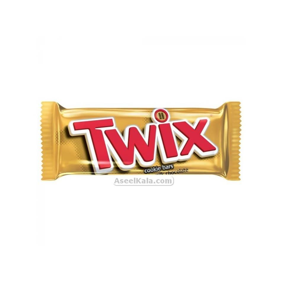 شکلات تویکس TWIX وزن 50 گرم