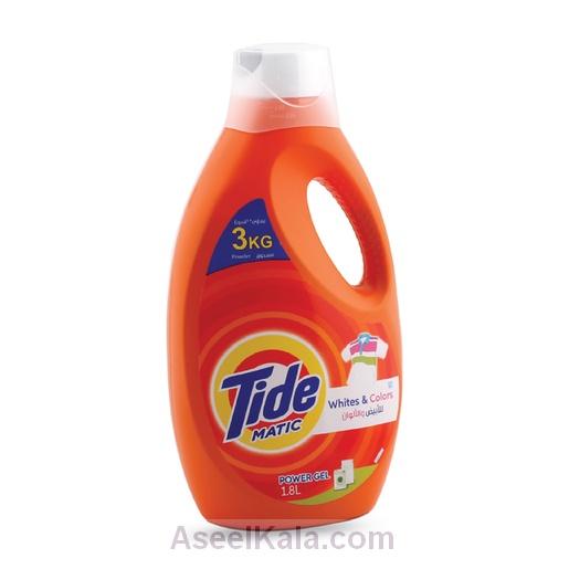 ژل یا مایع ماشین لباسشویی تاید TIDE ایتالیا 1.8 لیتری
