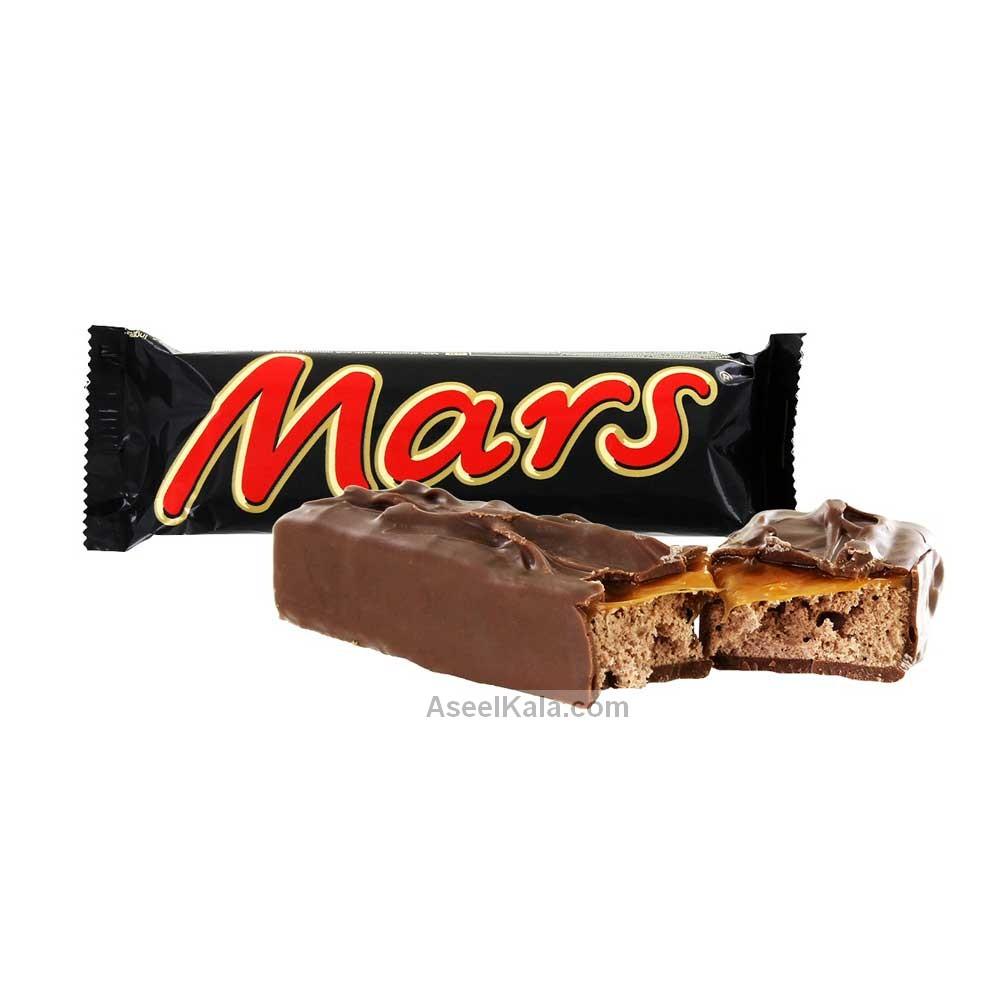 شکلات کاراملی مارس MARS وزن 51 گرمی