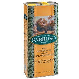 روغن زیتون سابروسو SABROSO بدون بو 4 لیتری