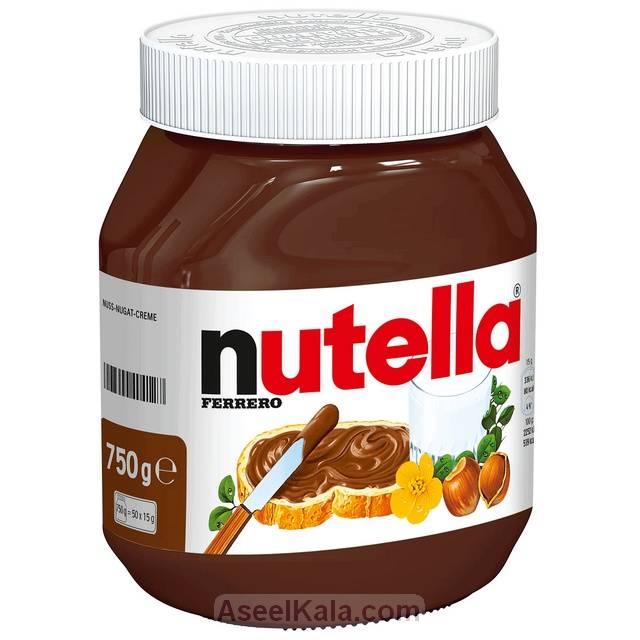 شکلات صبحانه نوتلا NUTELLA آلمانی 750 گرم