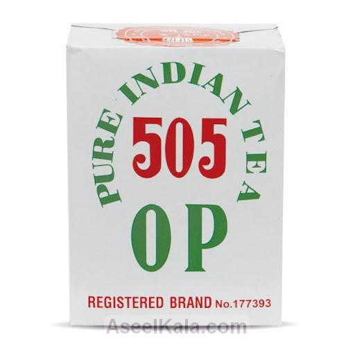 چای خالص هندی اوپی 505 وزن 500 گرمی