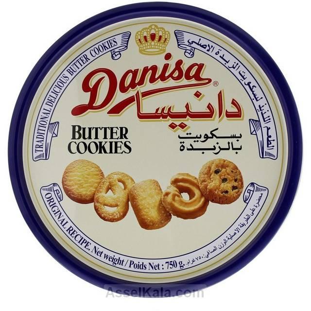 بیسکویت کوکی کره ای دانیسا DANISA قوطی 750 گرم