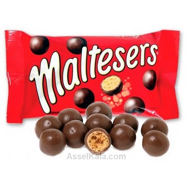دراژه شکلاتی مالتیزرز MALTESERS وزن 37 گرم
