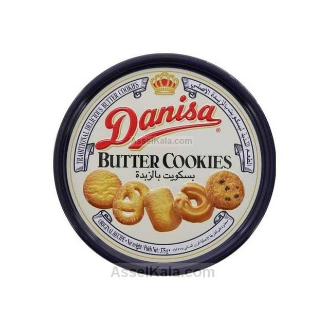 بیسکویت کوکی کره ای دانیسا DANISA قوطی 375 گرم