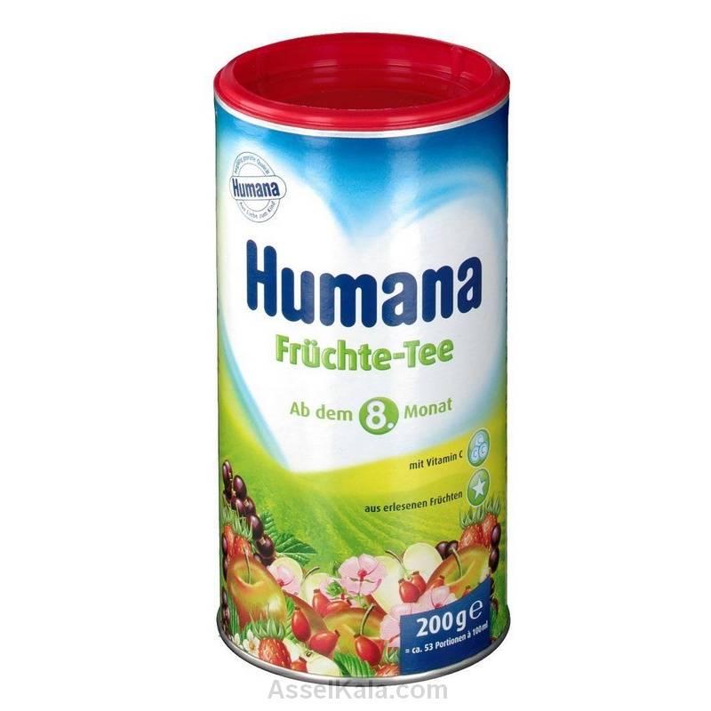 چای میوه کودک هومانا humana وزن 200 گرم