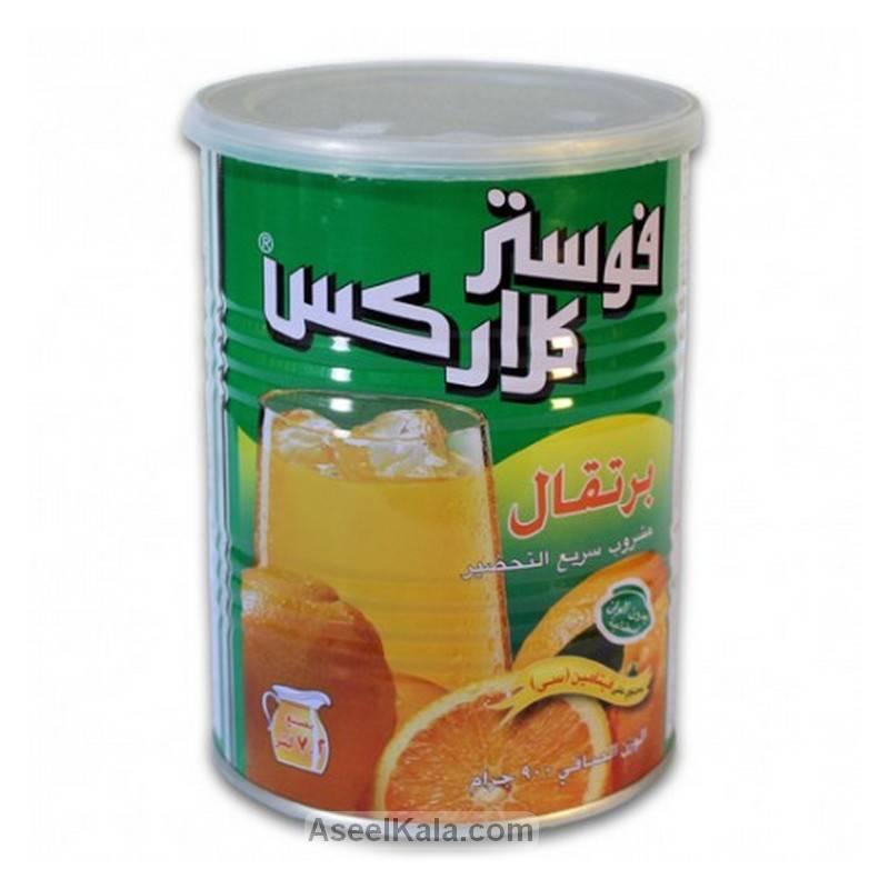 پودر شربت فوری فوستر کلارکس FOSTER CLARKS با طعم پرتقال قوطی ۹۰۰ گرمی
