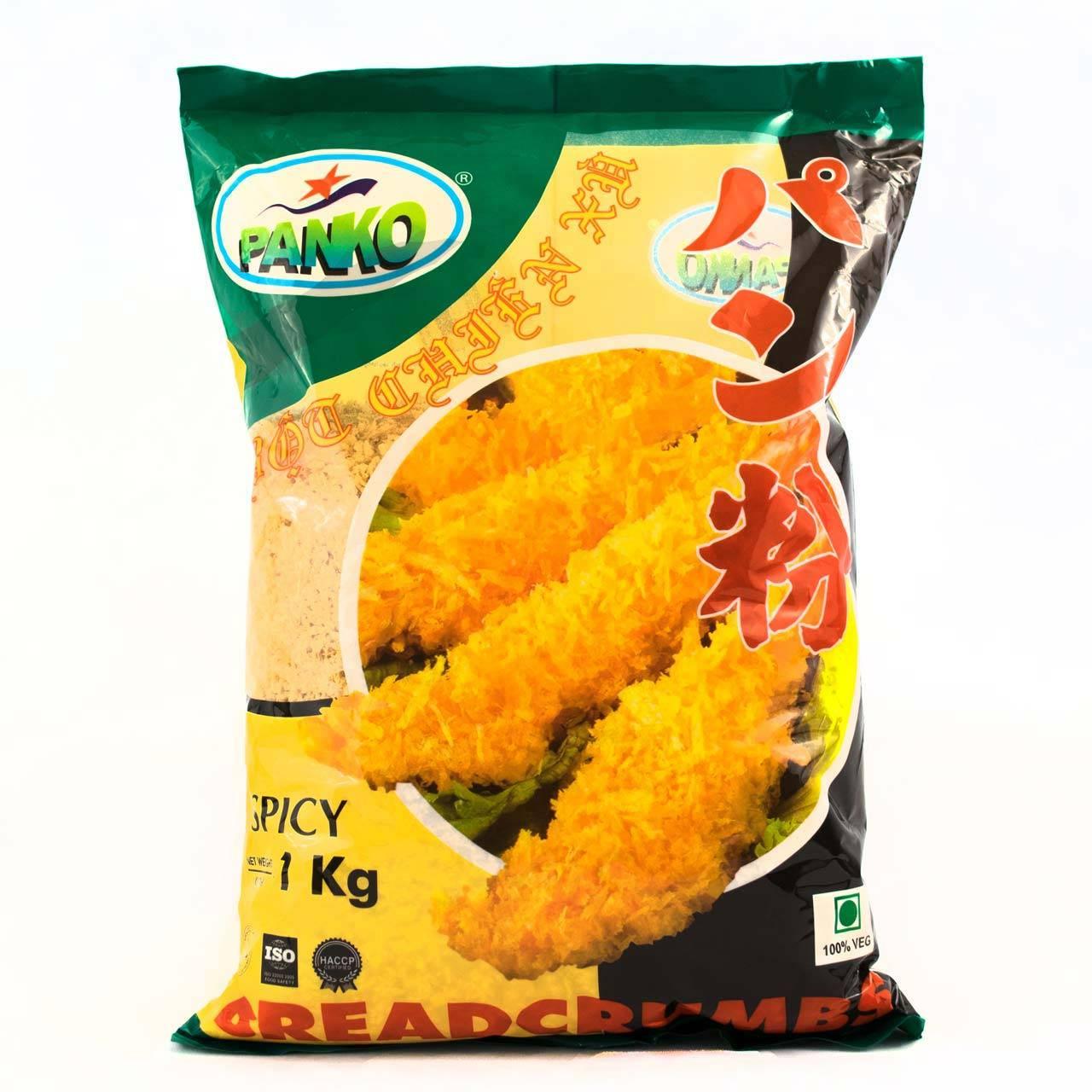 پودر سوخاری پانکو PANKO با طعم فلفلی پاکت 1 کیلو گرم