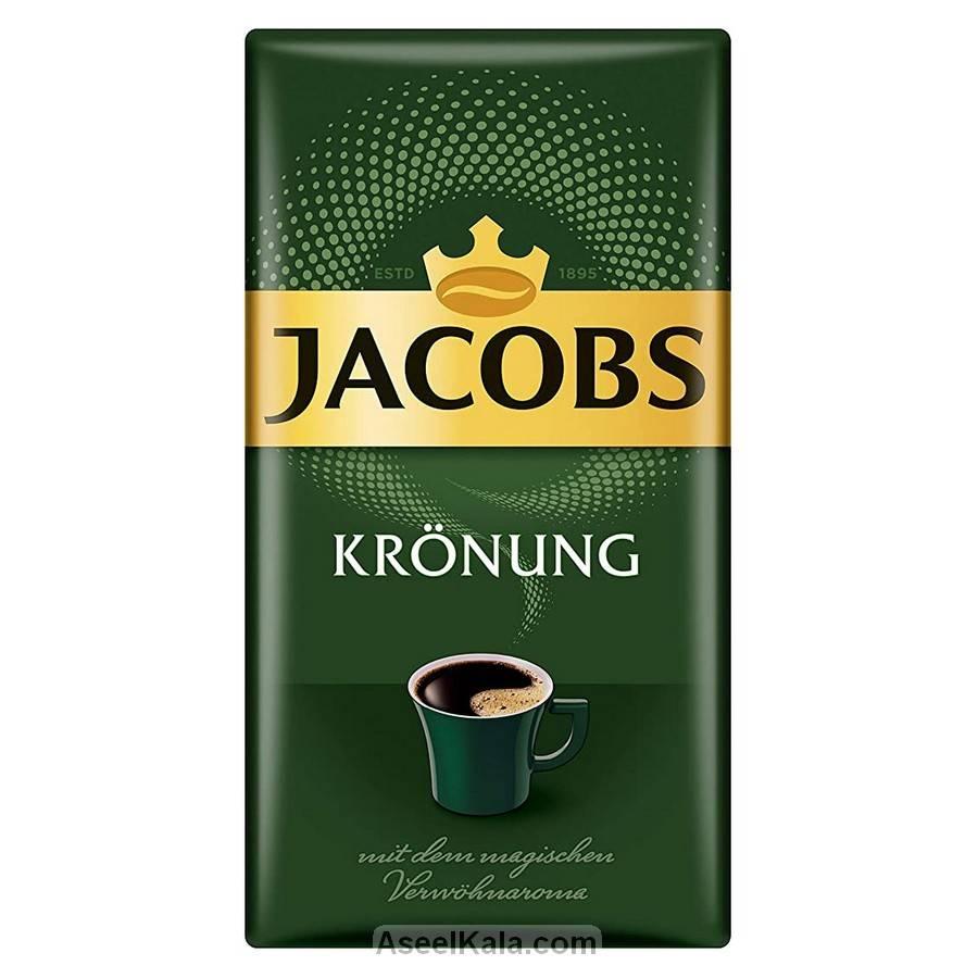 قهوهآسیاب شده جاکوبز JACOBS مدل سلطنتی پاکتی ۵۰۰ گرمی
