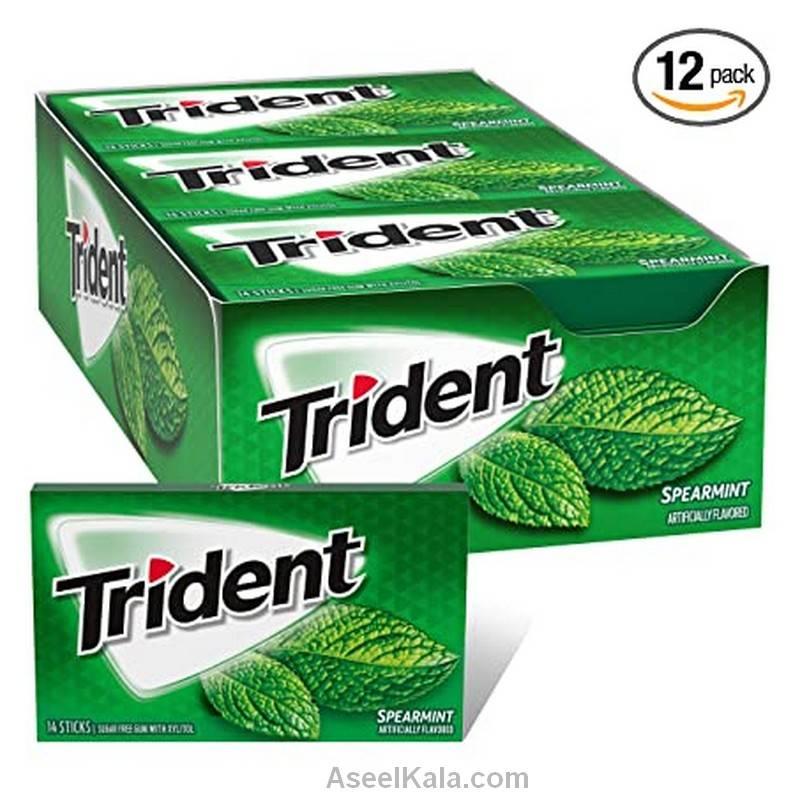 قیمت و خرید آدامس تریدنت TRIDENT با طعم نعنا ملایم 12 بسته 14 عددی    فروشگاه اینترنتی اصیل کالا