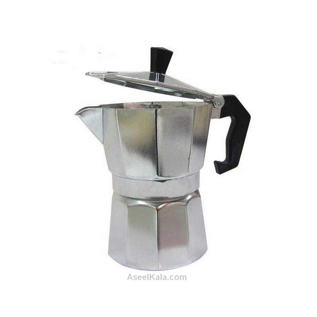 قهوه جوش اسپرسو ساز آلومینیومی 1 کاپ