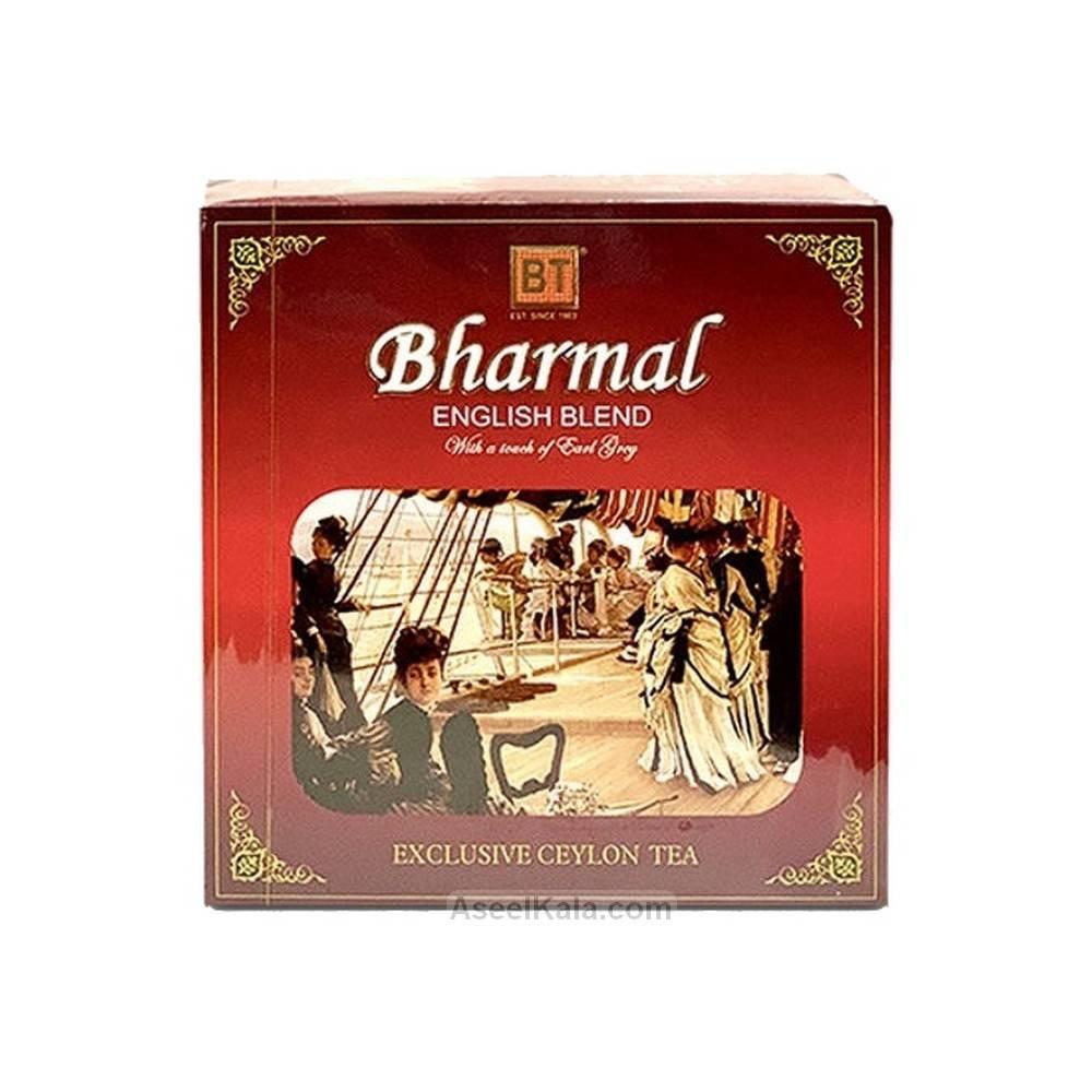 چای کیسه ای بارمال Bharmal معطر ارل گری بسته 100 عددی