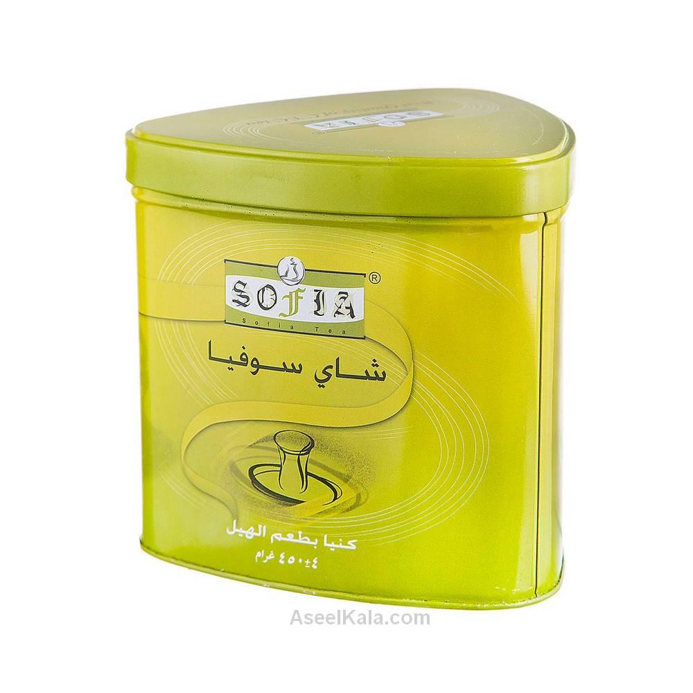 چای کله مورچه ای سوفیا Sofia قوطی طعم هل وزن 450 گرم