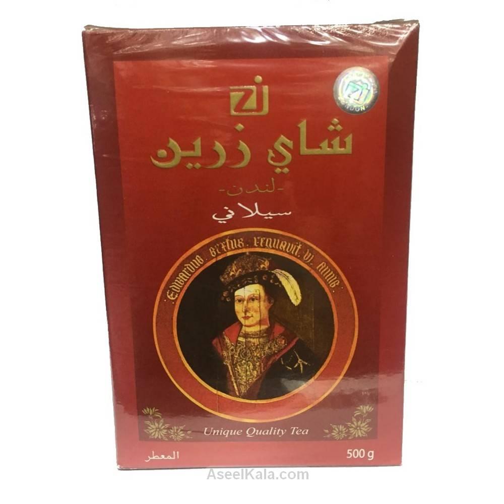 چای زرین Zareen پاکتی سیلان معطر وزن 500 گرم