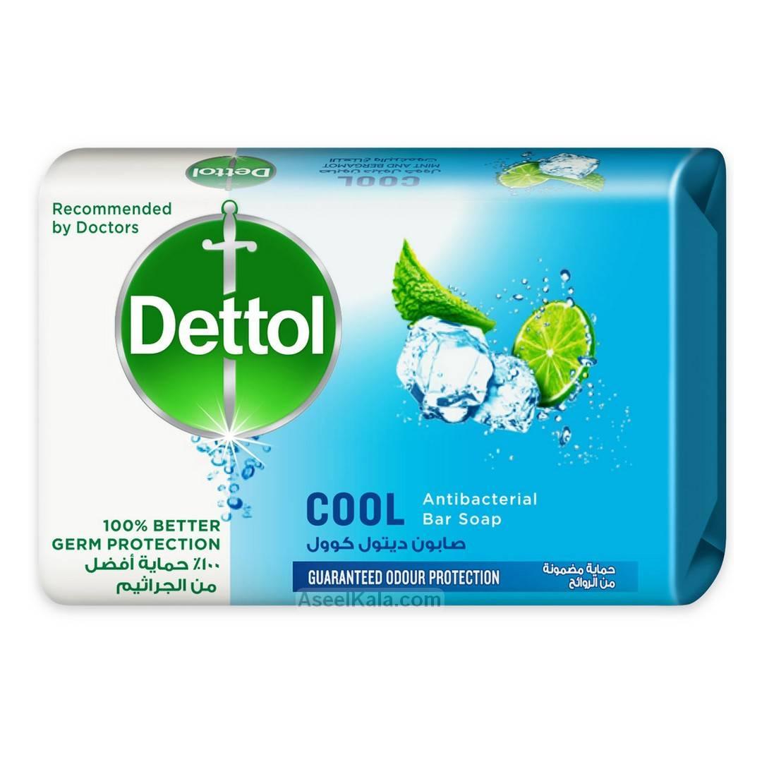 صابون دتول Dettol مدل Cool Soap وزن 165 گرم