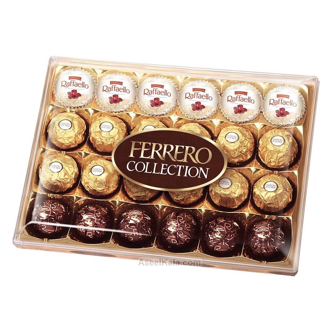 شکلات فررو کادویی FERRERO Collection وزن ۲۶۹ گرم
