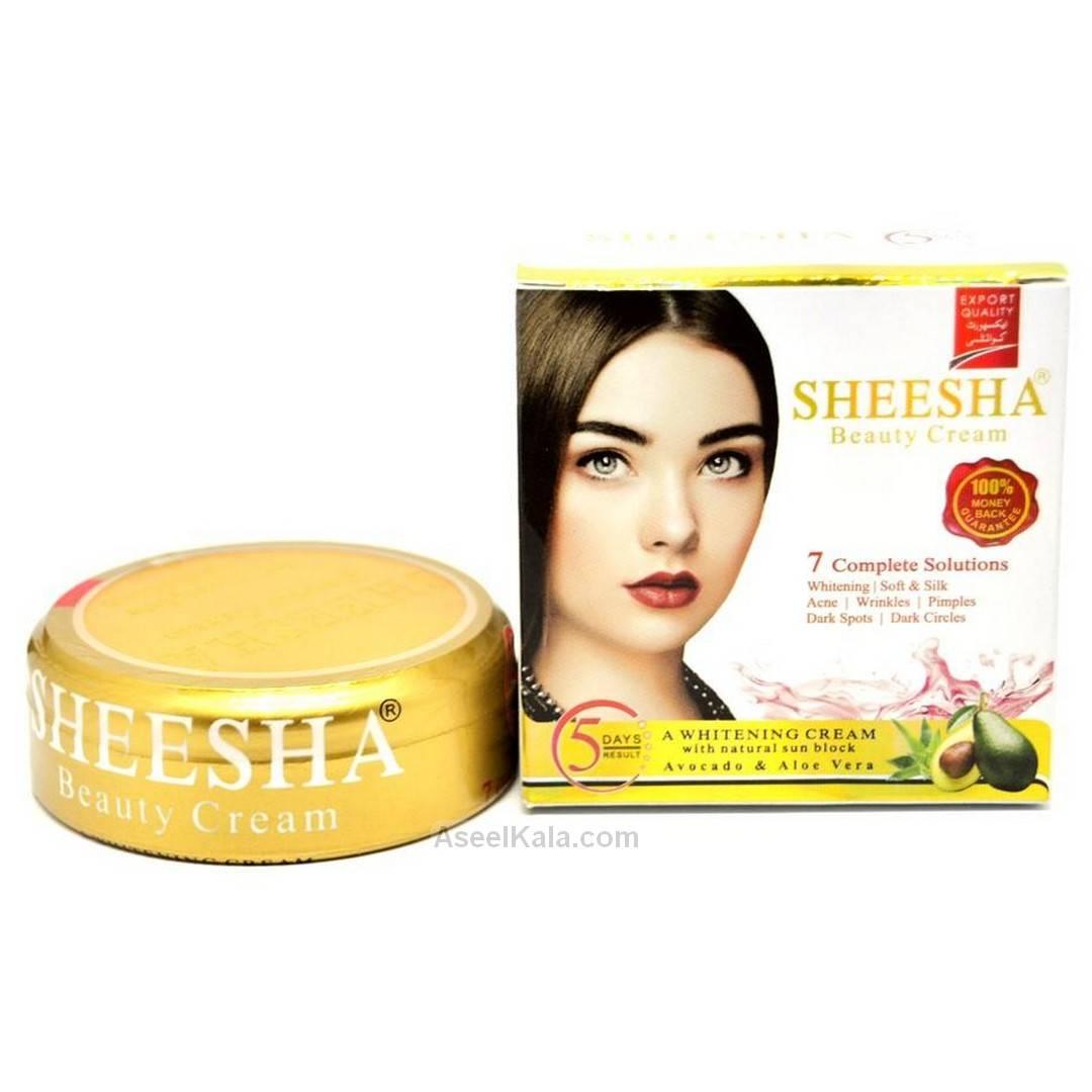 کرم ضد لک و سفید کننده شیشه Sheesha وزن 50 گرم