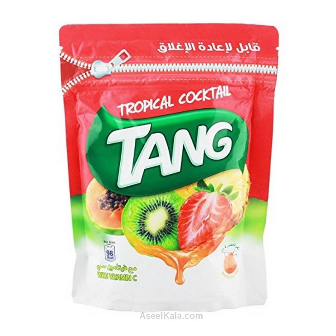 پودر شربت تانج Tang با طعم استوایی پاکتی 500 گرمی